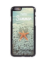 Personalized Gift Hello Summer Design Aluminum Hard Case for iPhone 6