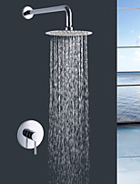 Shengbaier Wall Mount Rain Single Handle Shower Faucet