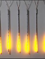 DC12V Input 46W 50CM Long 72pcs 5050 SMD LED Meteor Rain Light, Yellow Color 10 Pcs/Set
