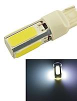 T20 7440 15W COB LED Car Tail Brake Stop Turn Light Bulbs-White Light(1PCS)