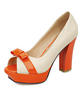 Women's Shoes Chunky Heel Peep Toe Pumps Dress More Colors available