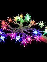 2W 4 Meter Outer Diameter 20pcs Bulb LED Modeling String Lighting Sputnik Lights, RGB Color