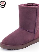 MG Women's Classic Twinface Sheepskin Boot Real Fur Winter