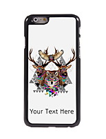 Personalized Gift The Wolf and The Eagle Design Aluminum Hard Case for iPhone 6