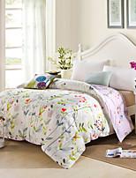 aiwode® 100% algodão rainha capa de edredão comfortble para o tamanho individual ou duplo cama