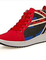 Zapatos de mujer Tela Tacón Cuña Cuñas/Plataforma/Zapatos de Cuna Zapatos de Deporte Oficina y Trabajo/Casual/Deporte