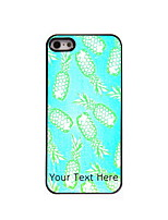 Personalized Gift Pineapple Design Aluminum Hard Case for iPhone 4/4S