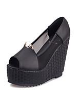 Women's Shoes  Synthetic  Wedge Heel  Wedges  Peep Toe  Sandals  Outdoor  Casual