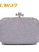 L.WEST® Women's Luxury Diamonds Party/Evening Bag