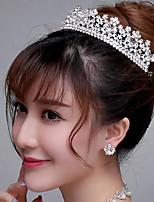 Dame/Blomsterpige Rhinestone/Titan Headpiece Bryllup/Spesiell Leilighet/Utendørs Diademer Bryllup/Spesiell Leilighet/Utendørs 1 Deler