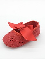 Baby Shoes Wedding/Dress/Casual Cotton/Fabric Flats Black/Yellow/Pink/Purple/Red/White