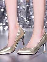 DONNE - Scarpe col tacco - Tacchi/A punta - A stiletto Finta pelle - Blu/Rosso/Argento/Dorato