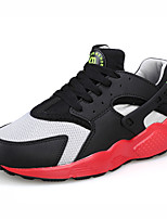 Men's Running Shoes Tulle/Fabric Black