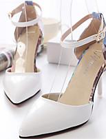 Women's Shoes Stiletto Heel Pointed Toe Pumps/Heels Dress Green/Pink/White