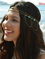 Shixin® Alloy/Emerald Hair Combs Daily/Casual 1pc