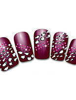 Lovely Feet Cartoon Finger Nail Stickers