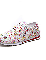 Woman's Shoes  Round Toe  Low Heel  Fashion Sneakers  Indoor Court