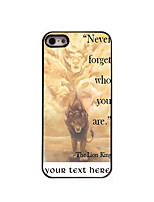 Personalized Gift Never Forger Who You Are Design Aluminum Hard Case for iPhone 4/4S