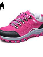 Zapatos de mujer - Tacón Plano - Comfort / Punta Redonda / Punta Cerrada - Sneakers a la Moda - Casual - Semicuero -Negro / Azul / Morado