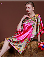 Women Polyester/Silk/Spandex Robes/Satin & Silk/Ultra Sexy/Suits Nightwear