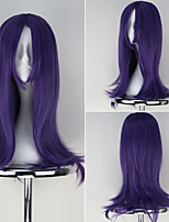 League of Legends LOL LeBlanc Purple Color Long Wavy Game Cosplay Wig