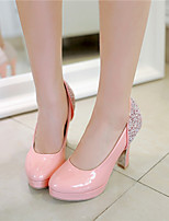 Women's Shoes Synthetic Stiletto Heel Heels/Basic Pump Pumps/Heels Office & Career/Dress/Casual Green/Pink/White