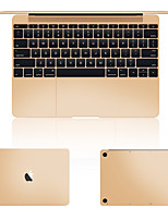 goud of zilver laptop skins dekken film voor macbook full body pro retina 13