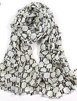 Women's Fashion 100% Wool Animal Printed Scarf