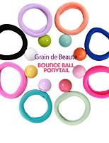 Elastique - en Pierre Précieuse & Cristal/Tissu - Vintage/Mignon/Soirée/Travail/Décontracté