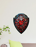 3D The Shield Decoration Wall Stickers Wall Decals