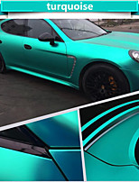 1.52*1M Polymeric PVC Matte Chrome Vinyl Car Wraps Sticker Color Changing Car Sticker With Air Bubble Auto Accessories