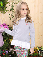 Camiseta/Camisa/Blusa/Jersey y Cardigan Chica de - Invierno/Primavera/Otoño - Algodón - Manga Larga