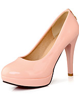 Women's Shoes Synthetic/Leatherette Stiletto Heel Heels/Styles/Round Toe Pumps/Heels Party & Evening/Dress/Casual