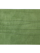 Stitched Waves Embroidery Suede Table Mat Placemat