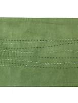 vagues cousues broderie en daim mat napperon de table