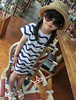 Girl's Lovely Stripe Dresses