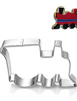 Vehicle Train Locmotive Shape Cookie Cutters Fruit Cut Molds Stainless Steel