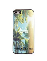 Personalized Gift Aloha Design Aluminum Hard Case for iPhone 4/4S