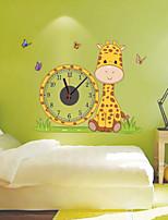 Modern Style DIY Fashion Creative Cute Cartoon Mute Wall Clock