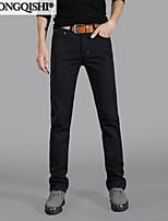 AOLONGQISHI®  Men's Pure Long Sleeve Pant , Cotton / Denim Casual 306-1