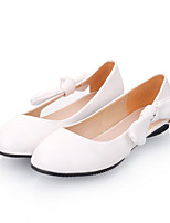Girls' Shoes Casual Round Toe  Flats Black/Pink/Red/White