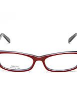 [Free Lenses] Acetate/Plastic Rectangle Full-Rim Classic Prescription Eyeglasses