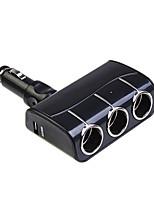 widepath® electrónica de automóviles puertos USB doble-1-a 3 adaptador de 90 de plegado 12v-24v