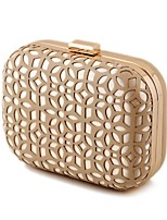 L.WEST Woman Fashion Hollow Out Evening Bag