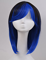 Hot Sale American Popular New Style Straight Hair Wigs Synthetic Hair Wigs