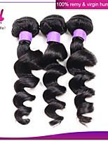 brazilian lose Welle 3 Bündel viel brasilianisches reines Haar unverarbeitete lose Welle billig menschliches Haar