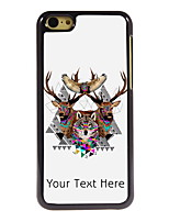 Personalized Gift The Wolf and The Eagle Design Aluminum Hard Case for iPhone 5C