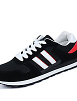 Men's Running Shoes Tulle/Fabric Black/Blue/Gray