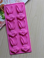 bichos hornear bunny moldes de cocción galletas de chocolate del molde del molde del molde de hielo