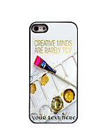 Personalized Gift Palette Design Aluminum Hard Case for iPhone 5/5S